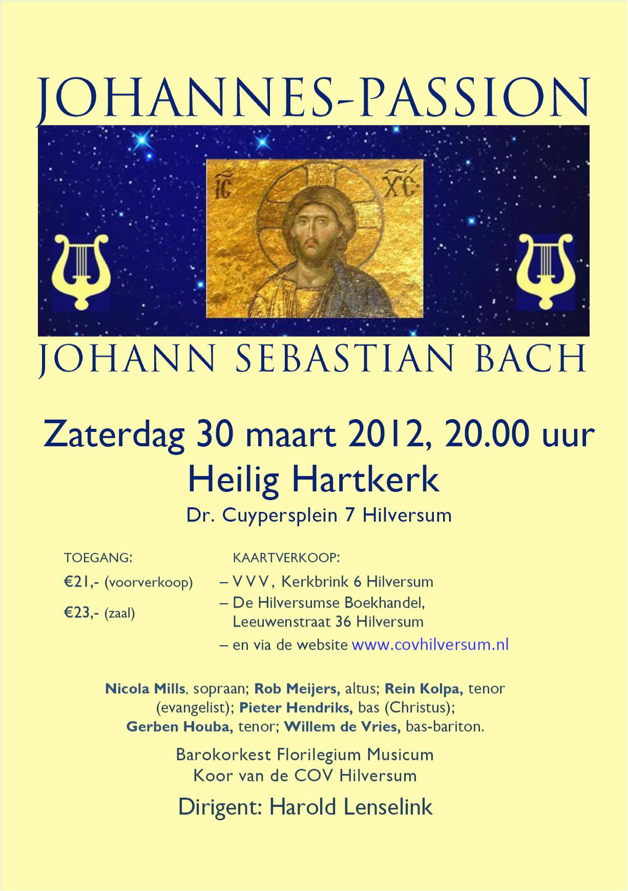 Flyer Johannes Passion COVH A5 mail